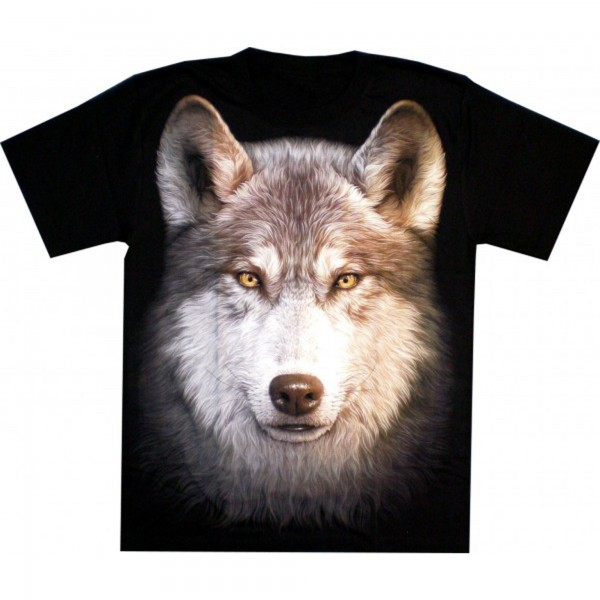 T-Shirt Adults - Wulf Head Glow