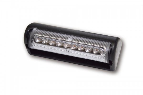 LED-Rücklicht MULTIFLEX, schwarz, klares Glas