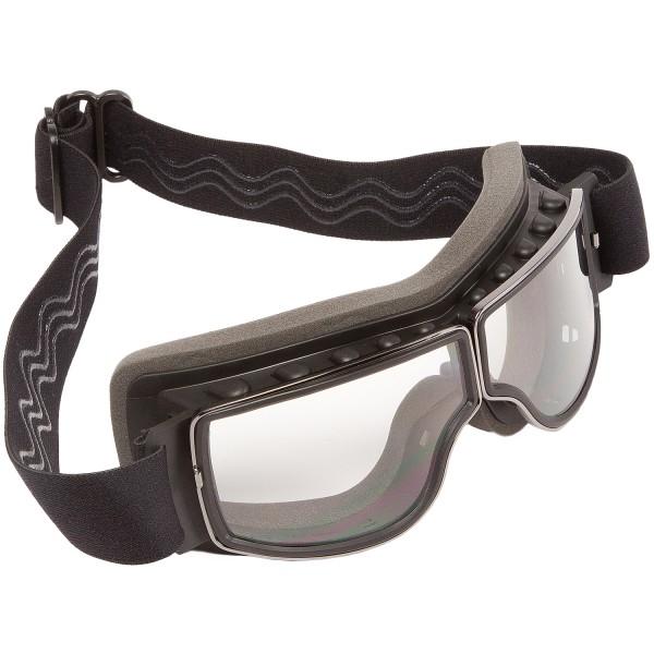 PiWear® Nevada Überbrille klar Retrobrille Cabrio Oldtimer Brille beschlagfrei rutschfest für Brille