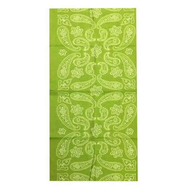 PiWear® Schlauchschal Apps Lime