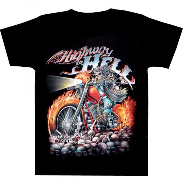 T-Shirt Erwachsene - Highway to hell