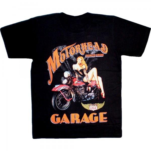 T-Shirt Adults - Motorhead garage