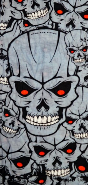 PiWear® Tube Skulls Grey