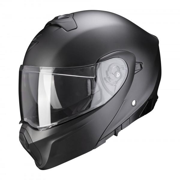 Scorpion Exo-930 Solid matt-perlmutt-schwarz