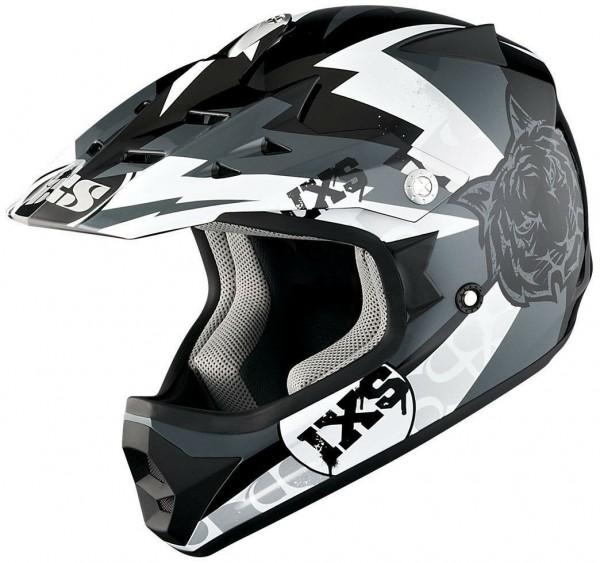 IXS HX 278 Tiger schwarz-grau-weiß