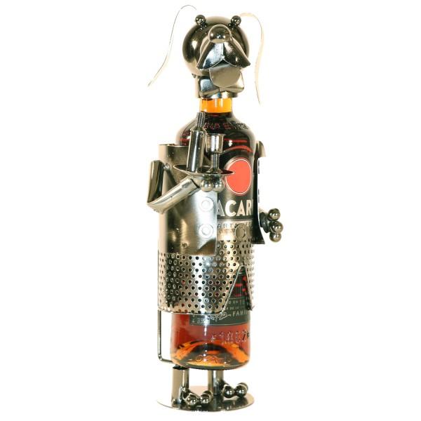PiWear® Weinflaschenhalter Metall Kellner