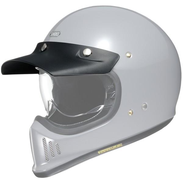 Shoei EX-Zero Helmschirm schwarz